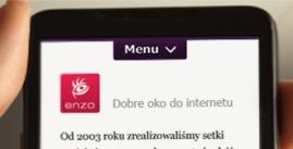 Strona mobilna restauracji Giuseppe zLublina