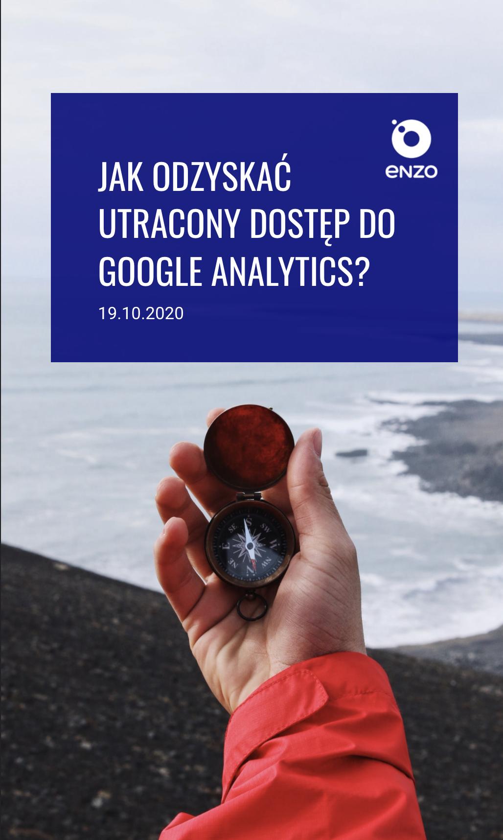 Logowanie do Google Analytics